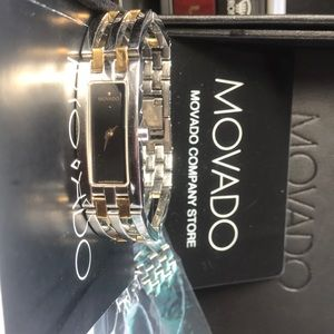 Movado watch Gold and silver